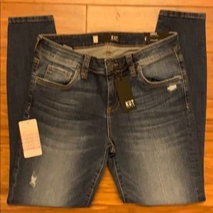 KUT from the kloth Connie, Ankle skinny, NWT 8